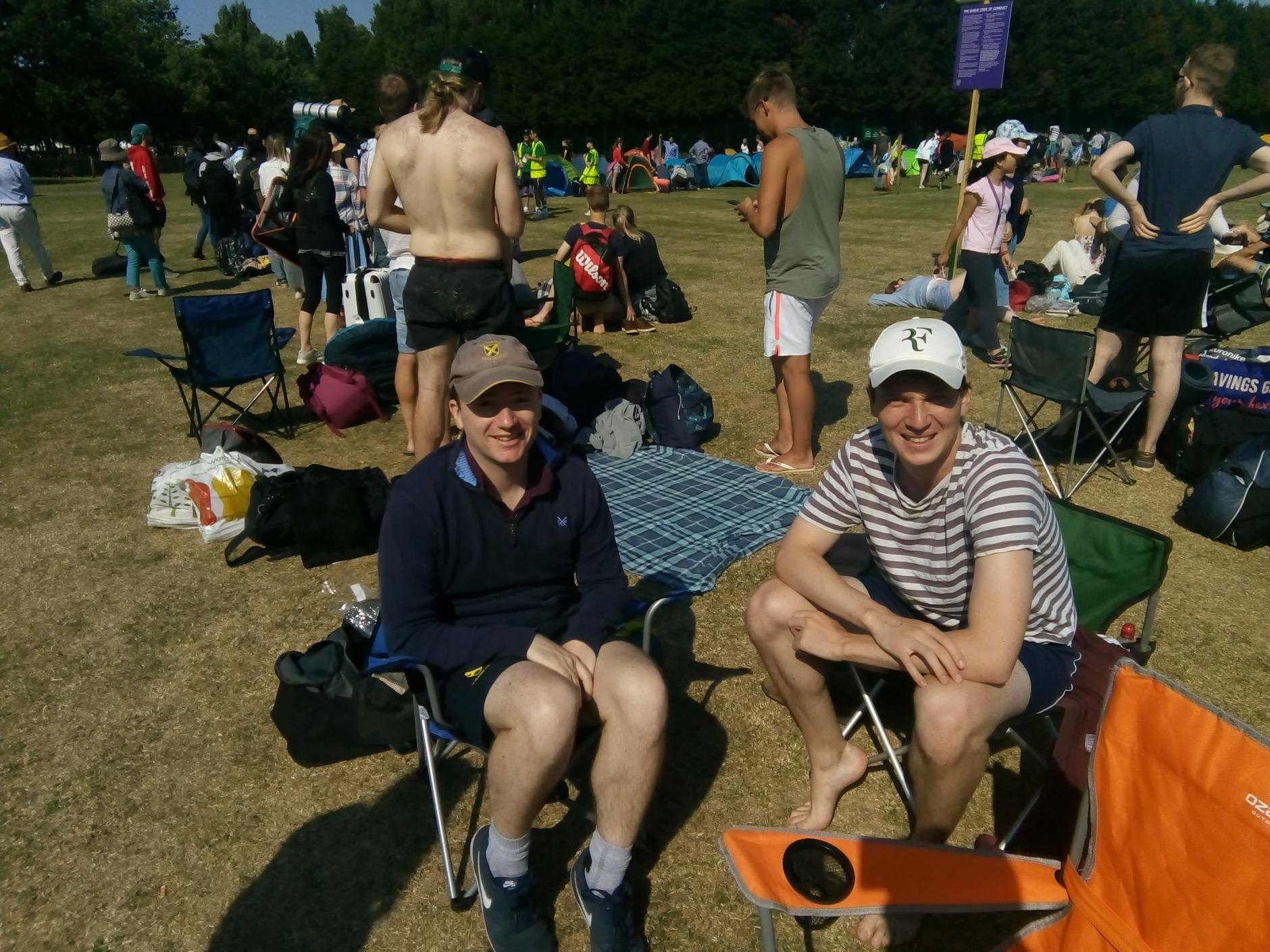 An insider's guide to the Wimbledon queue! Attachment