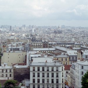 Paris skyline from Sacre Couer