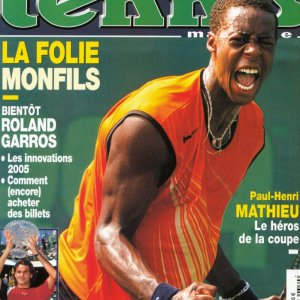 Tennis magazine France May 2005