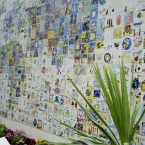 Children for Peace Wall