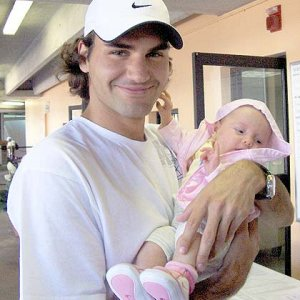 Roger with Melanie