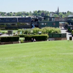 View of Wimbledon Grounds from Henman Hill