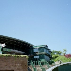 View of Wimbledon Grounds from outside the site