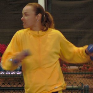 Friday - Hingis Practices