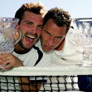 Julien Benneteau and Michael Llodra