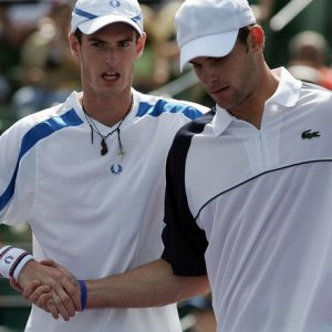 Andy Murray & Andy Roddick