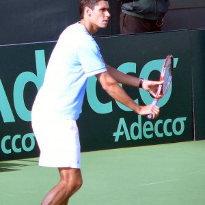 Friday - Hanescu Practicing