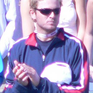 Friday - Mardy Fish during Introduction of the teams